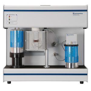 Área de superficie y porosidad - Micromeritics